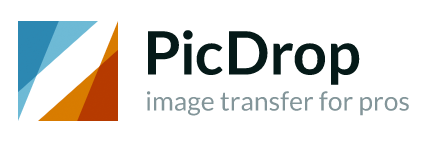 Logo von PicDrop – image transfer for pros